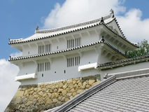 Himeji Castle defensive tower Royalty Free Stock Photography