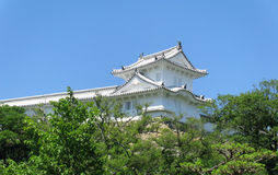 Himeji Castle defensive tower and walls Stock Image