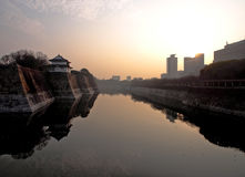 Between Himeji Castle and Downtown Royalty Free Stock Images