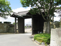 Himeji Castle Entrance Stock Photo