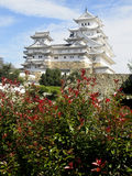Himeji Castle. This feudal-era castle is one of the finest remaining examples of traditional Japanese architecture Stock Image