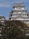 Himeji Castle. This feudal-era castle is one of the finest remaining examples of traditional Japanese architecture Stock Photo