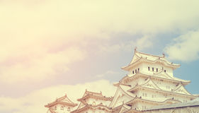 Himeji Castle fully open for tourists. In 2016 Royalty Free Stock Photo
