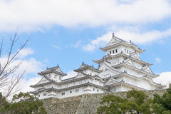 Himeji Castle fully open for tourists. In 2016 Stock Images
