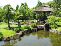 Himeji Castle gardens Royalty Free Stock Photos