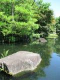 Himeji Castle gardens Royalty Free Stock Photography