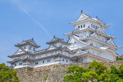 Himeji Castle. A hilltop Japanese castle complex located in Himeji, Hyogo Prefecture Stock Images