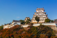 Himeji Castle in Hyogo Prefecture Royalty Free Stock Photos