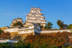 Himeji Castle in Hyogo Prefecture Royalty Free Stock Photo