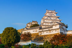 Himeji Castle in Hyogo Prefecture Royalty Free Stock Image