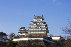 Himeji Castle in Hyogo Prefecture, Japan Royalty Free Stock Images