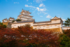 Himeji Castle in Hyogo Prefecture Stock Images