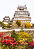 Himeji Castle, Japan. Royalty Free Stock Images