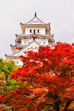Himeji Castle, Japan. Himeji Castle, also called White Heron Castle, in autumn season, Japan Stock Photography
