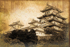 Himeji castle in Japan Stock Photos
