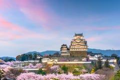 Himeji Castle, Japan in Spring Season royalty free stock photos