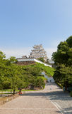Himeji castle, Japan. UNESCO site and National Treasure Royalty Free Stock Photos