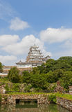 Himeji castle, Japan. UNESCO site and National Treasure Stock Photo