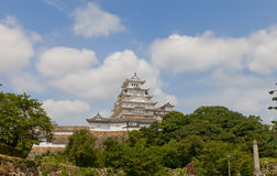 Himeji castle, Japan. UNESCO site and National Treasure Stock Image
