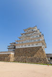 Himeji castle, Japan. UNESCO site and National Treasure Royalty Free Stock Image