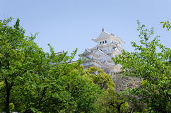 Himeji castle. In kansai Japan stock photo