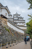 Himeji Castle in rainy day Stock Photo