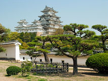 Himeji Castle view Royalty Free Stock Image