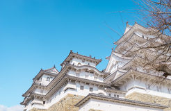 Himeji Castle view from Below Stock Photos