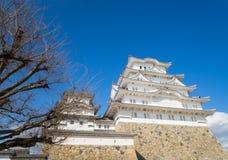 Himeji Castle view from Below Stock Photo