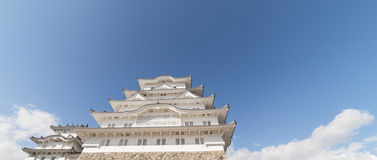 Himeji Castle view from Below Stock Image
