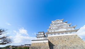 Himeji Castle view from Below Stock Photography