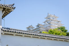 Himeji castle. White Himeji castle in Kansai Japan Stock Images