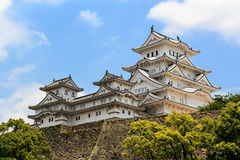 Himeji castle ; The world cultural heritage Royalty Free Stock Photos