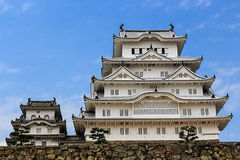 Himeji castle ; The world cultural heritage Stock Images