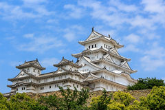 Himeji castle ; The world cultural heritage Royalty Free Stock Image