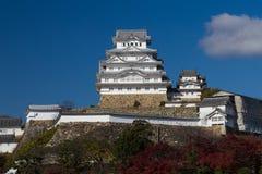 Himeji castle the world heritage. Historical Japanese Landmark Royalty Free Stock Image