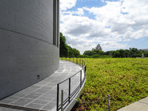 Himeji City Museum of Literature 姫路文学館. Himeji City Museum of Literature`s Architecture by a famous architect, Tadao Ando. It`s located in Himeji-shi Stock Image