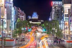 Himeji Giappone fotografia stock libera da diritti