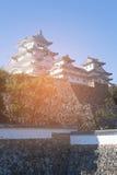 Himeji Grodowy historyczny punkt zwrotny w Hyogo Kansai Obraz Royalty Free