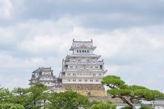 Himeji grodowy lub Biały Egret kasztel Zdjęcie Royalty Free