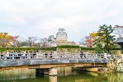 HIMEJI, JAPON - 20 novembre 2016 - le château de Himeji, un monde H de l'UNESCO Photos stock