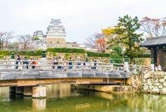 HIMEJI, JAPON - 20 novembre 2016 - le château de Himeji, un monde H de l'UNESCO Image stock