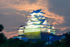 Free Himeji Jo Castle Detailed Closeup Sunset Royalty Free Stock Images - 67831459