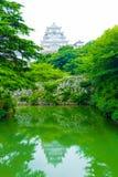 Himeji Jo Castle Rampart Moat Water Reflection V Royalty Free Stock Photo