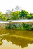 Himeji Jo Castle Sangoku Moat Ramparts Reflection Stock Image
