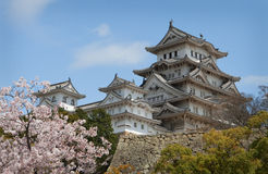 Himeji-jo Schloss lizenzfreies stockbild