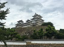 Himeji Himeji kasztel obraz royalty free