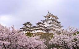 Himeji kasztel Fotografia Stock