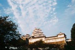 Himeji kasztel zdjęcie stock
