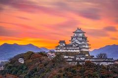 Himeji kasztel, Japonia zdjęcia stock